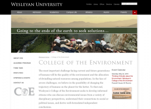 College of the Environment
